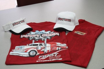 First Gear Hats and Shirts